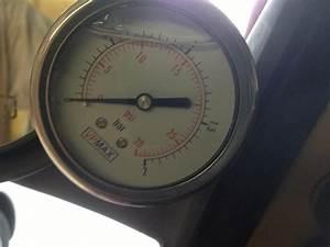 Vulcan Fuel Pressure Test Gauge  Lift Pump Check
