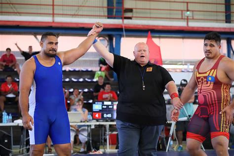 Tautu Flips Script on Temengil as Host French Polynesia Grabs Two Golds in Greco-Roman at ...