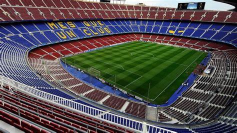 cuisine espagnole visite guidée du stade du c nou à barcelone