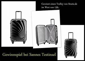 Extra Tipp Gewinnspiel : 1 x einen hochwertigen fernreisetrolley von stratic gewinnspiel wahnsinn ~ Orissabook.com Haus und Dekorationen