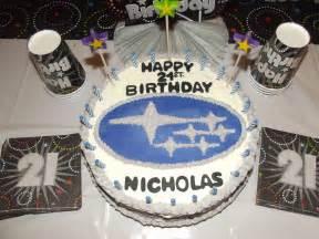 Happy Birthday Subaru by Subaru 21st Birthday Cake S Sweet Tooth Collection