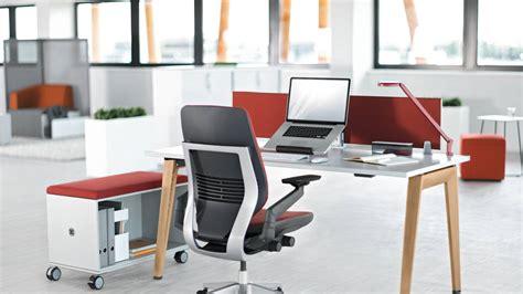 bureau b bureau b free table de travail steelcase