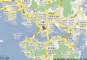 Hong Kong Hotel Map