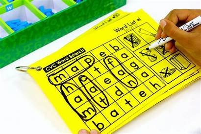 Cvc Word Words Reader Packet Type Map