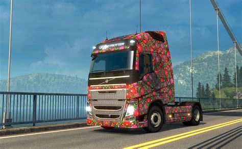 Euro Truck Simulator 2  Macaristan Skin Paketi Dlc'si
