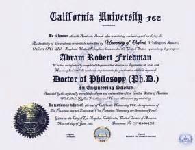 College Degree Diploma Sample