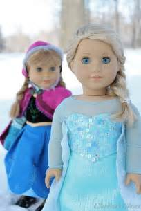 American Girl Doll Anna and Elsa