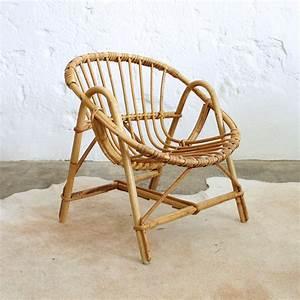 Petit Fauteuil Pour Enfant : fauteuil rotin enfant vintage atelier du petit parc ~ Teatrodelosmanantiales.com Idées de Décoration