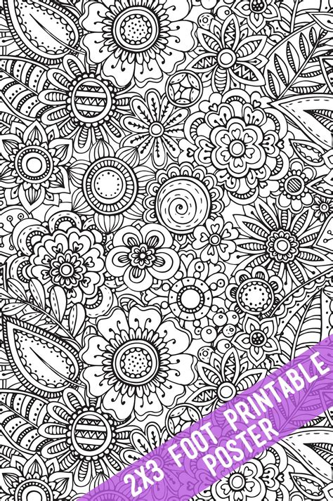 coloring posters printable coloring tablecloths and posters the crafting