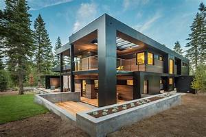 Spectacular mountain modern family home in Martis Camp