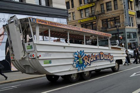 Duck Boat Tours Owner by Hibious Tour Company Declares Soma San Francisco S