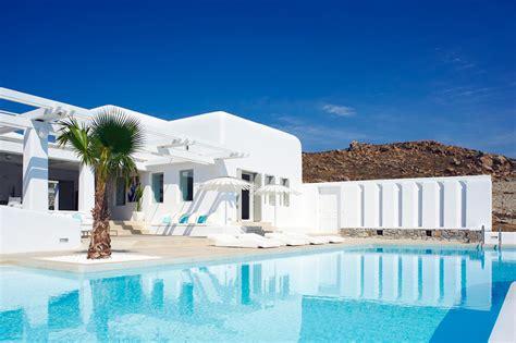 Ornos Beach Mykonos Greece Villas Casol