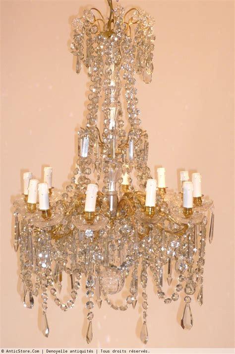 lustre de cristal baccarat lustre cristal de baccarat circa 1900 xxe si 232 cle n 16868