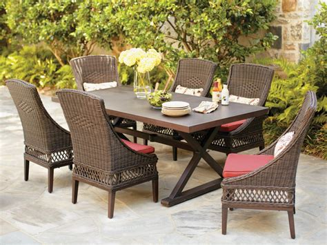 Amusing Outdoor Dining Room With Home Depot