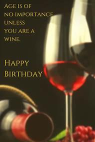 Happy Birthday Wishes Wine