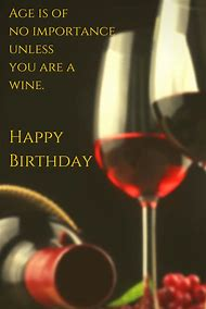 Happy Birthday Wishes Wine