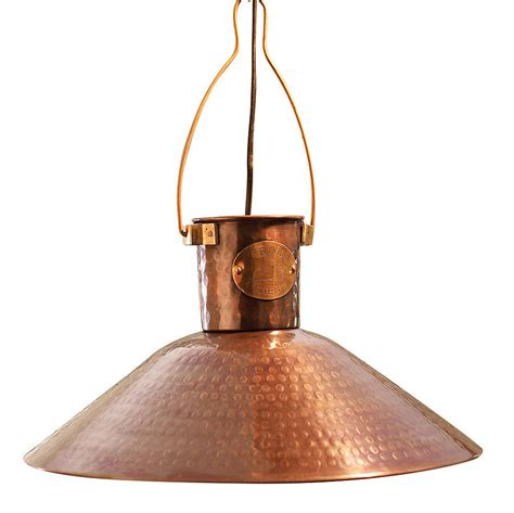 Pendant Kitchen Lighting Ideas - copper pendant light by country lighting notonthehighstreet com
