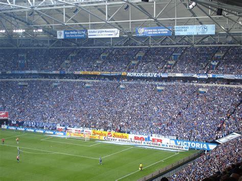 The north macedonia international will wear the no. Nordkurve Veltins Arena | Schalke 04 - Hannover 96 3-0 | Flickr