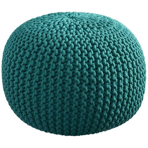 Knitted Ottoman by Knitted Pouf Ottoman Knit Pouf Knitted Pouf Ottoman
