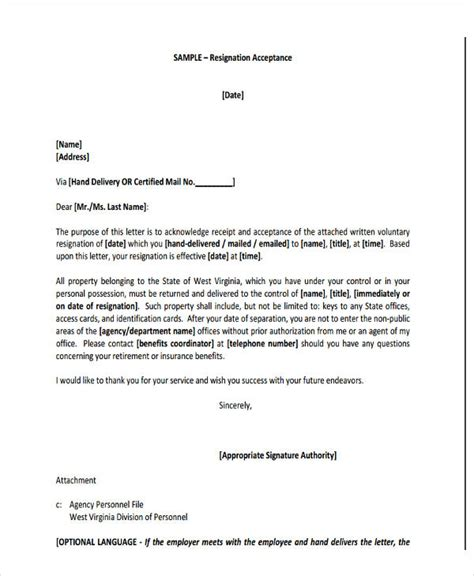 board resignation letter template   word
