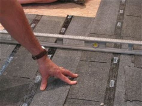 Preparing Osb Subfloor For Tile by How To Level A Plywood Or Osb Subfloor Using Asphalt