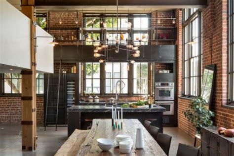 cuisines industrielles cuisine industrielle 43 inspirations pour un style