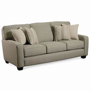 Lane 677 35 ethan sleeper sofa queen discount furniture at for Lane leather sectional sleeper sofa