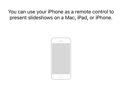 how to use iphone apps on mac how to use your iphone as a remote for the keynote app on