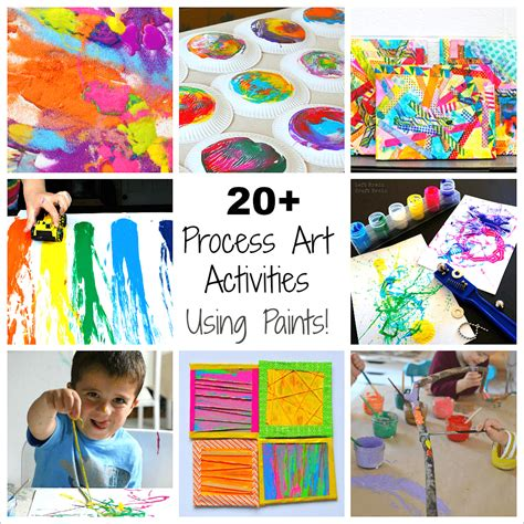 20 process activities for preschoolers using paint 423 | paint square