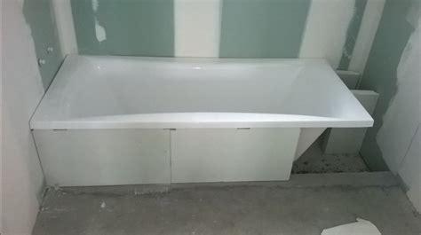 electricit 233 n 176 3 carrelage n 176 1 pose de la baignoire