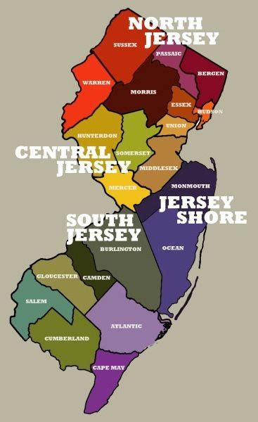 Central Jersey by My List Of Every Diner In Nj Broken By County Check