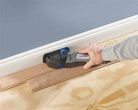 Laminate Flooring: Cutting Laminate Flooring With A Dremel