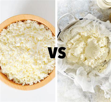 cottage cheese whey which is healthier cottage cheese or ricotta healthy
