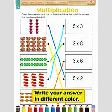 Kids Mathmultiplication Worksheets(grade2) (ipad) Reviews At Ipad Quality Index