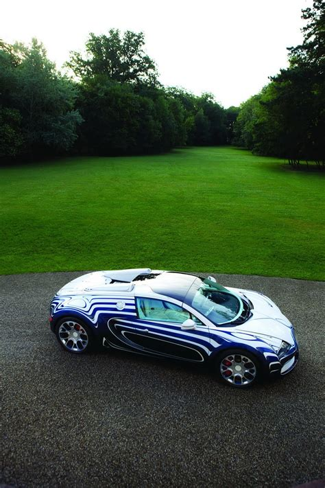 Are Bugattis In The Us by Bugatti S One Of A L Or Blanc Veyron Grand Sport