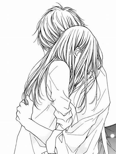 Boy Manga Anime Drawing Hugging Desenhos Sad
