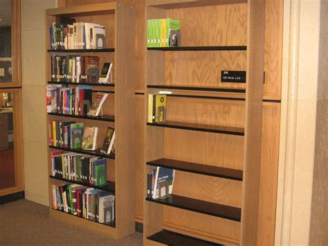 """new Books"" Bookshelves Have A New Home  Uofslibrary News"