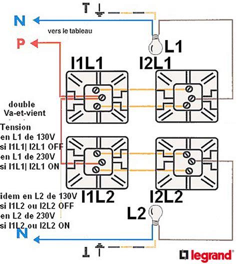 va et vient 3 interrupteurs 2 les branchement installation 233 lectrique circuits va et vient avec 2 interrupteurs en et courant 130v