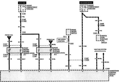 98 Ford Contour Wiring by Ford Contour Engine Diagram Wiring Library