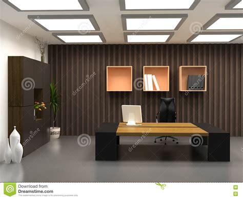 le bureau moderne le bureau moderne image stock image du meubles travail