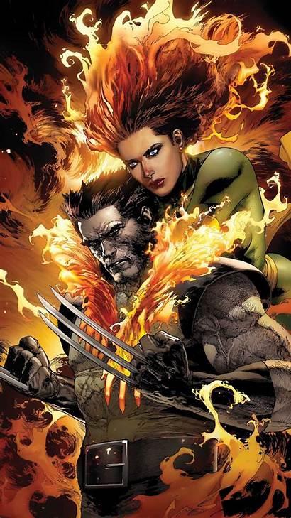 Wolverine Grey Jean Comic Marvel Storm Wallpapers
