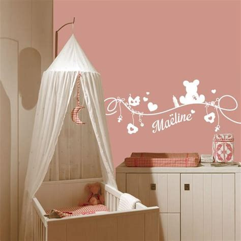 sticker chambre bebe deco chambre bebe fille stickers