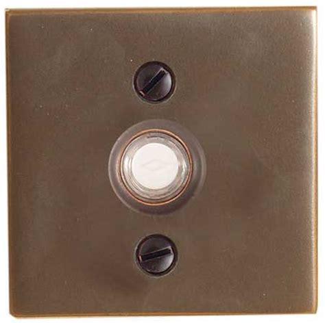 emtek square style brass doorbell cover shop home decor