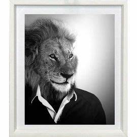 Tableau Lion Noir Et Blanc : tableau et toile cadre d co ~ Dallasstarsshop.com Idées de Décoration