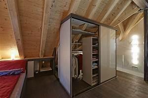 Begehbarer Kleiderschrank Dachschräge : schrank in der dachschr ge nach mass dachschr genschrank bedienbar von drei seiten ~ Eleganceandgraceweddings.com Haus und Dekorationen