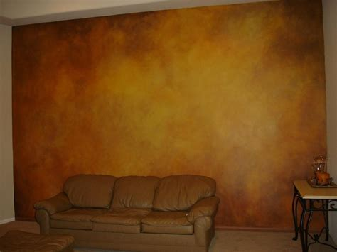 faux finishing living wall by skywoods decorative painting