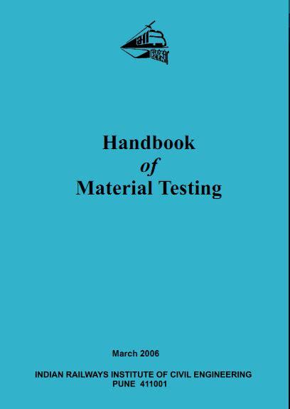 handbook  material testing book  shiv kumar
