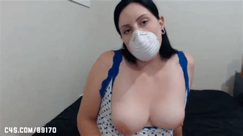 Fetish Clips By Luna Surgical Cone Face Mask Wmv