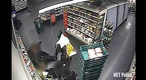 Masked raiders tie up M&S staff as brave cashier tries to ...