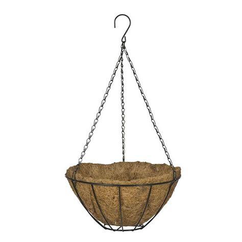 home depot hanging ls bloem 10 in black dura cotta plastic hanging basket
